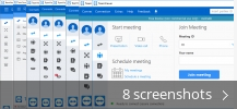 Screenshot collage for TeamViewer