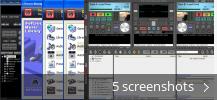 ROCKIT PRO DJ (free version) download for PC Screenshot collage for ROCKIT PRO DJ