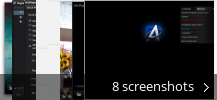 Screenshot collage for ALLPlayer
