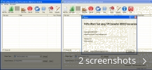 Screenshot collage for Pdf to Word Text Jpeg Tiff Converter 3000