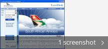 Screenshot collage for South African Airways Timetable