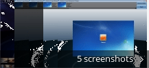 Screenshot collage for Windows 7 Logon Background Changer