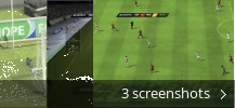 Screenshot collage for FIFA 10