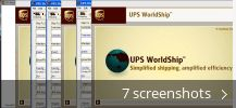 UPS WorldShip (free version) download for PC