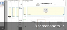 Screenshot collage for PDF24 Creator
