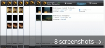 Screenshot collage for Wise Video Converter
