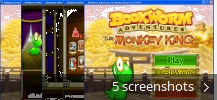 Screenshot collage for Bookworm Adventures The Monkey King