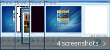 Screenshot collage for Torrent MPEG Splitter