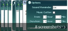 Screenshot collage for MP3 Converter