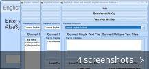 English To Hindi and Hindi To English Converter Software (free version)  download for PC