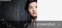 Screenshot collage for Crystal Liu Yifei theme pack Final for Windows XP