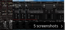Screenshot collage for DJ Mixer Pro