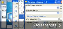 Universal Extractor (free) download Windows version