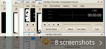 Screenshot collage for FairStars Recorder