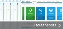 Screenshot collage for Emsisoft Anti-Malware