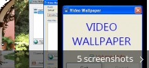 Screenshot collage for Video Wallpaper