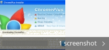 Screenshot collage for Google Chrome Plus