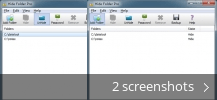 Screenshot collage for Hide Folder Pro