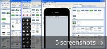 Screenshot collage for MobiOne Studio
