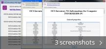 Screenshot collage for OCS Inventory NG Windows Agent