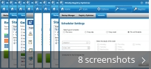 Screenshot collage for WinZip Registry Optimizer