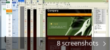 Screenshot collage for Web Creator Pro