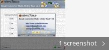 Screenshot collage for SysInfoTools Email Converter (Demo)