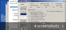 Screenshot collage for Microsoft Office Sounds