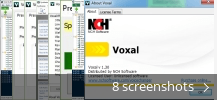 Screenshot collage for Voxal Voice Changer