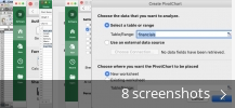 Screenshot collage for Microsoft Excel