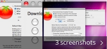 Screenshot collage for Tomato Torrent