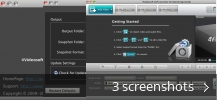 Screenshot collage for 4Videosoft 3GP Converter for Mac