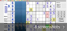 Screenshot collage for Sudoku Daily